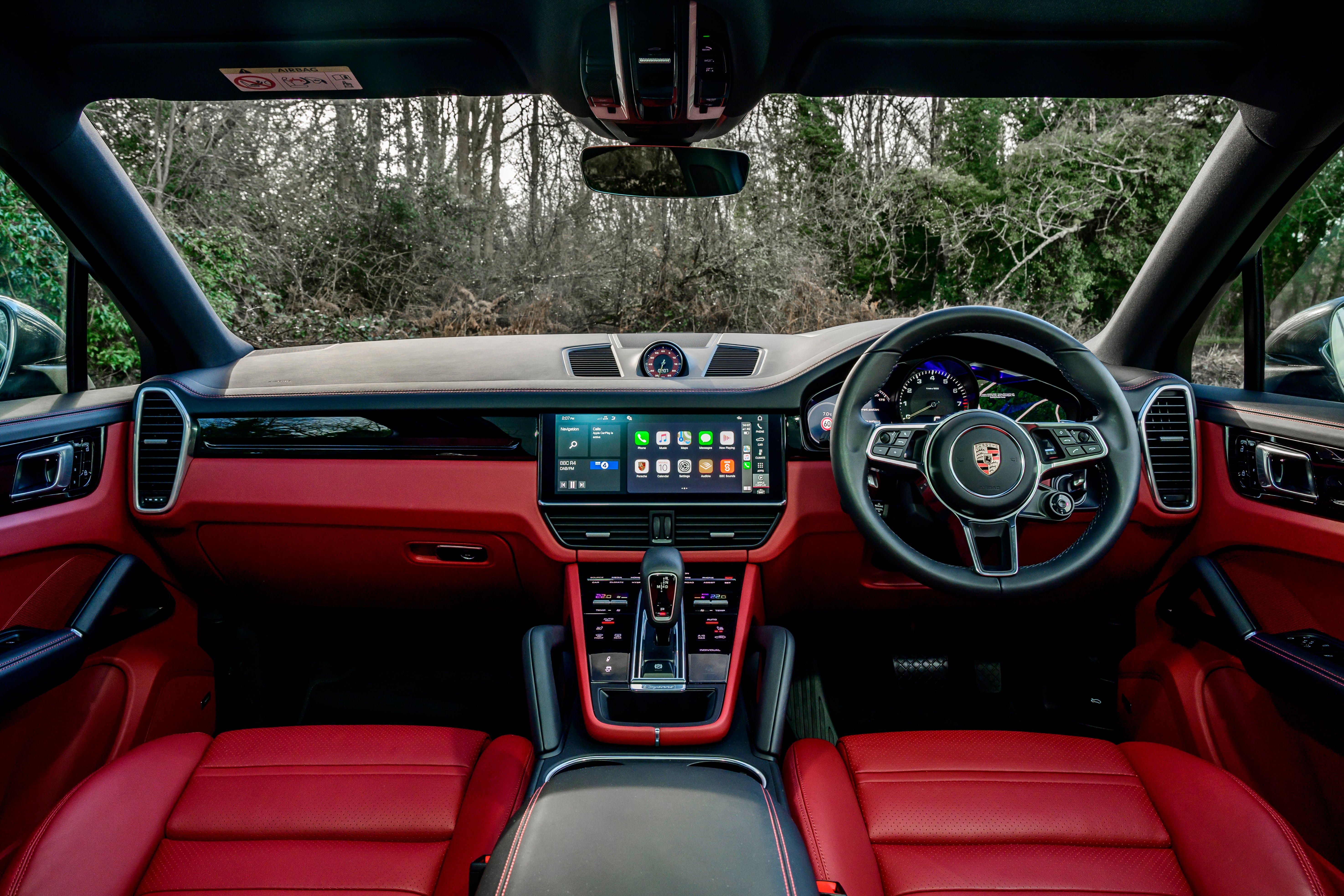 Porsche Cayenne Coupe Front Interior