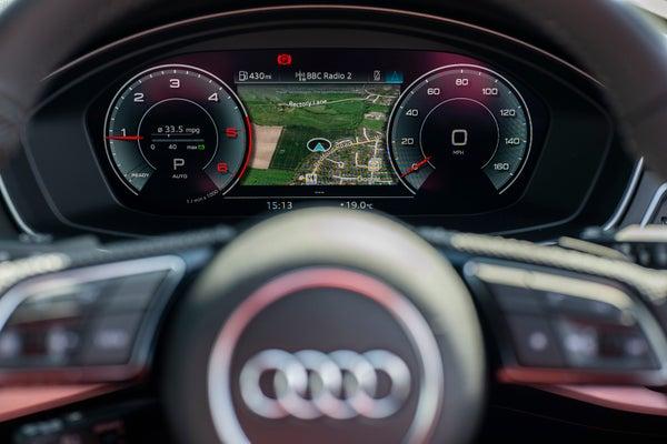 Audi A4 Avant Dashboard