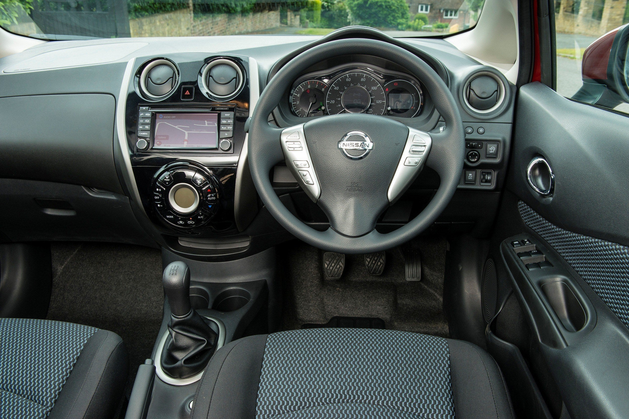 Nissan Note Review 2021 interior dashboard