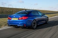 BMW M5 Driving Back