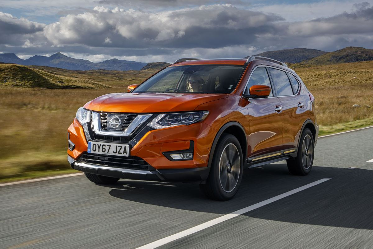 Nissan X-Trail frontleft exterior