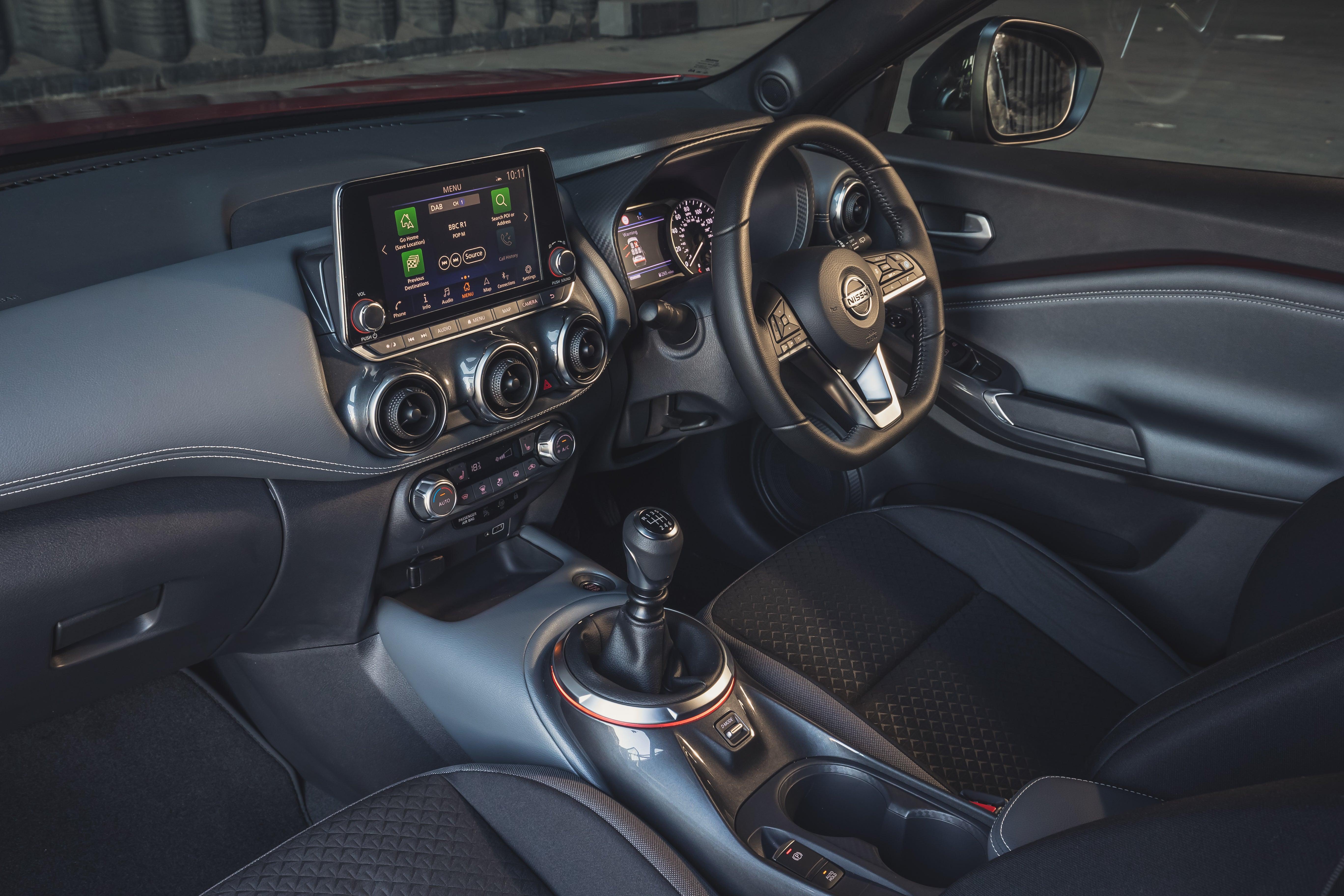 Nissan Juke 2020 front interior