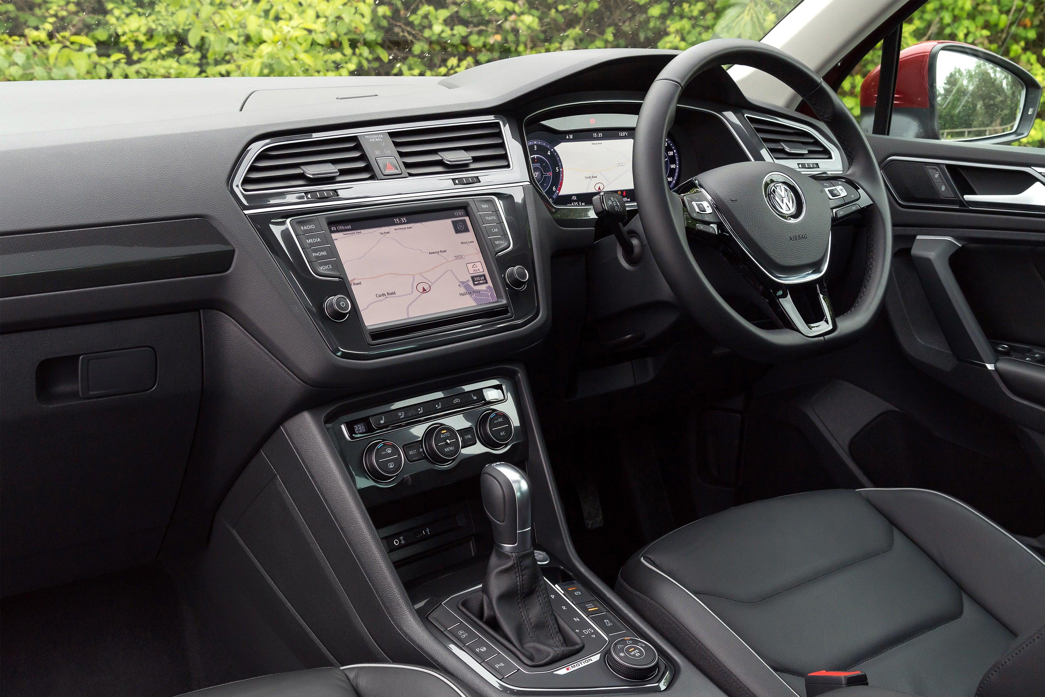 Volkswagen Tiguan Front Interior
