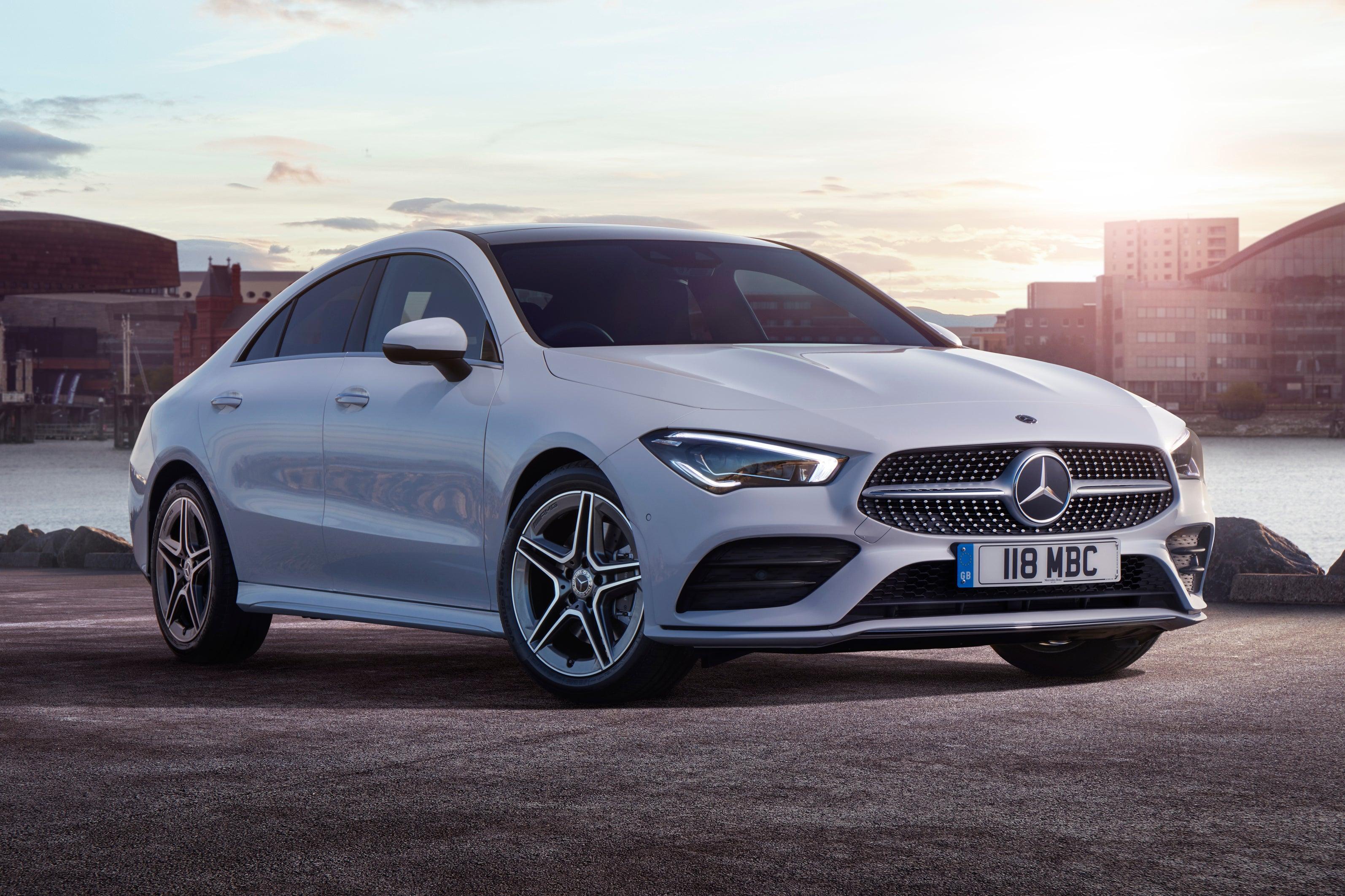 Mercedes CLA front exterior