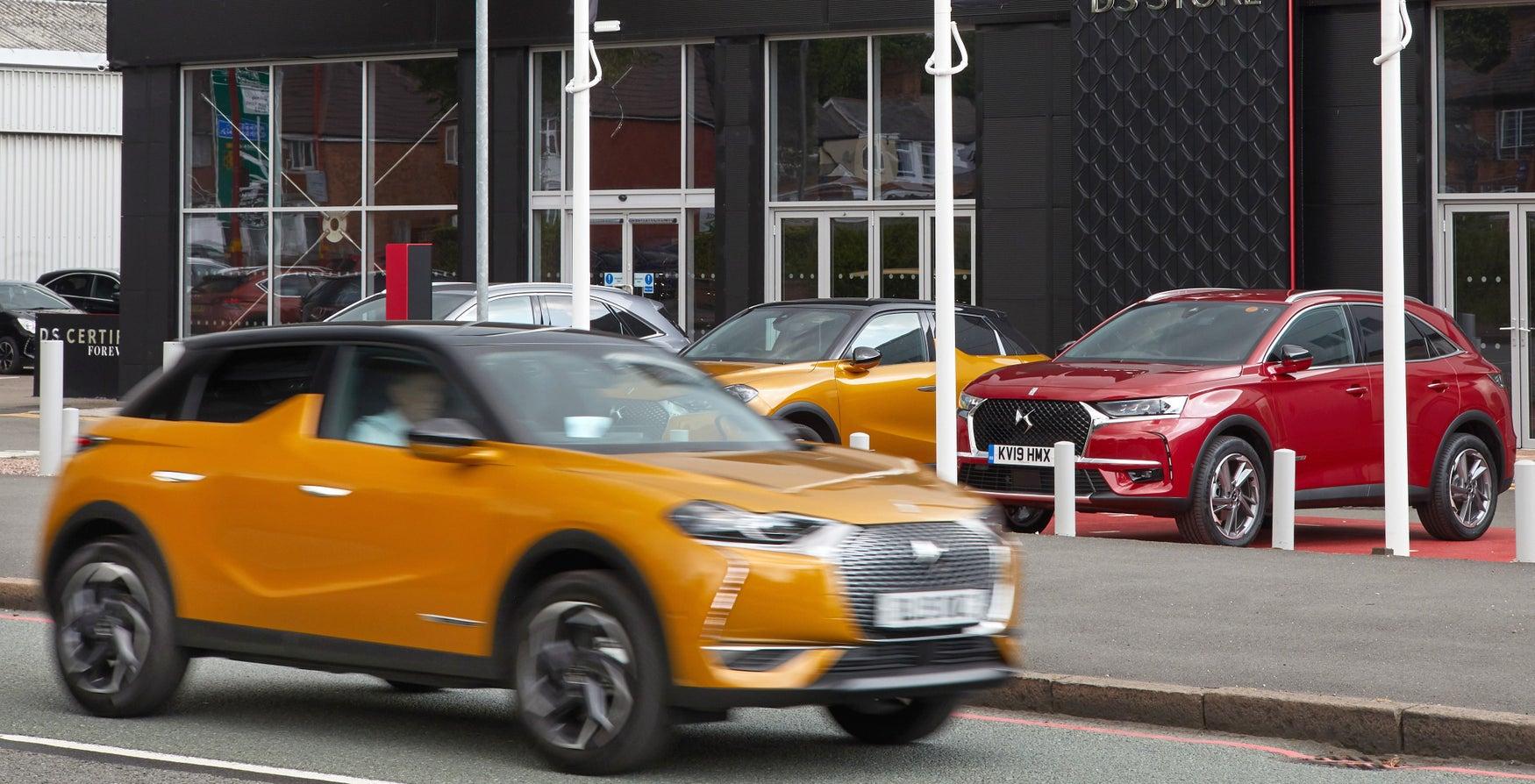 Car showroom Birmingham
