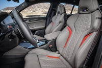 BMW X4 M Competition sports seats