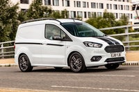 Ford Transit Courier on road