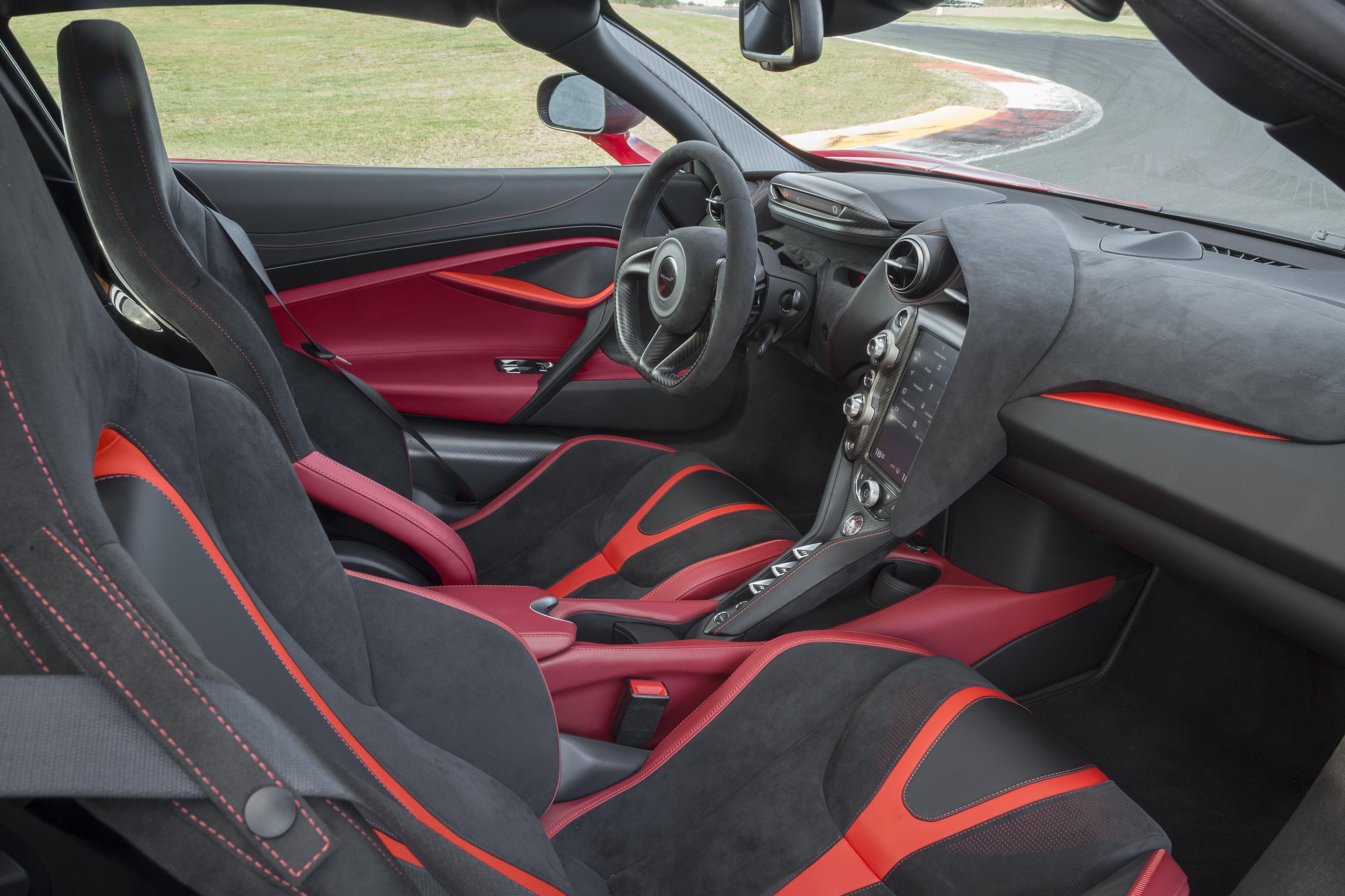 McLaren 720S front interior