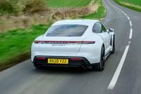 Porsche Taycan Rear View