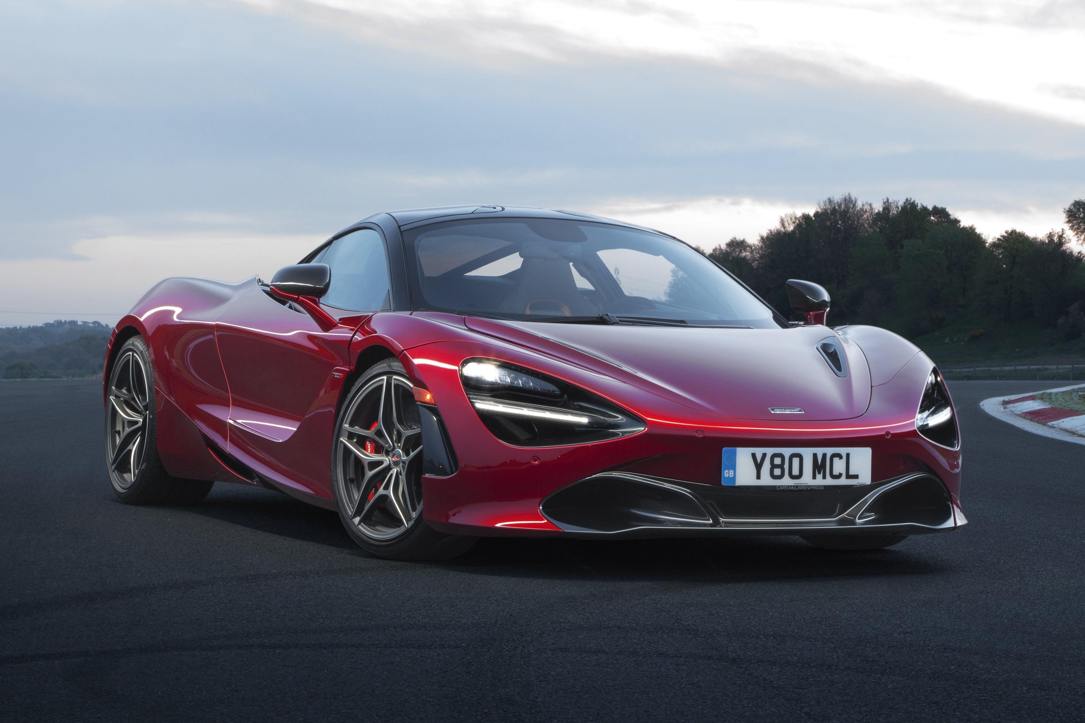 McLaren 720S front exterior