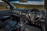 Nissan Navara front interior