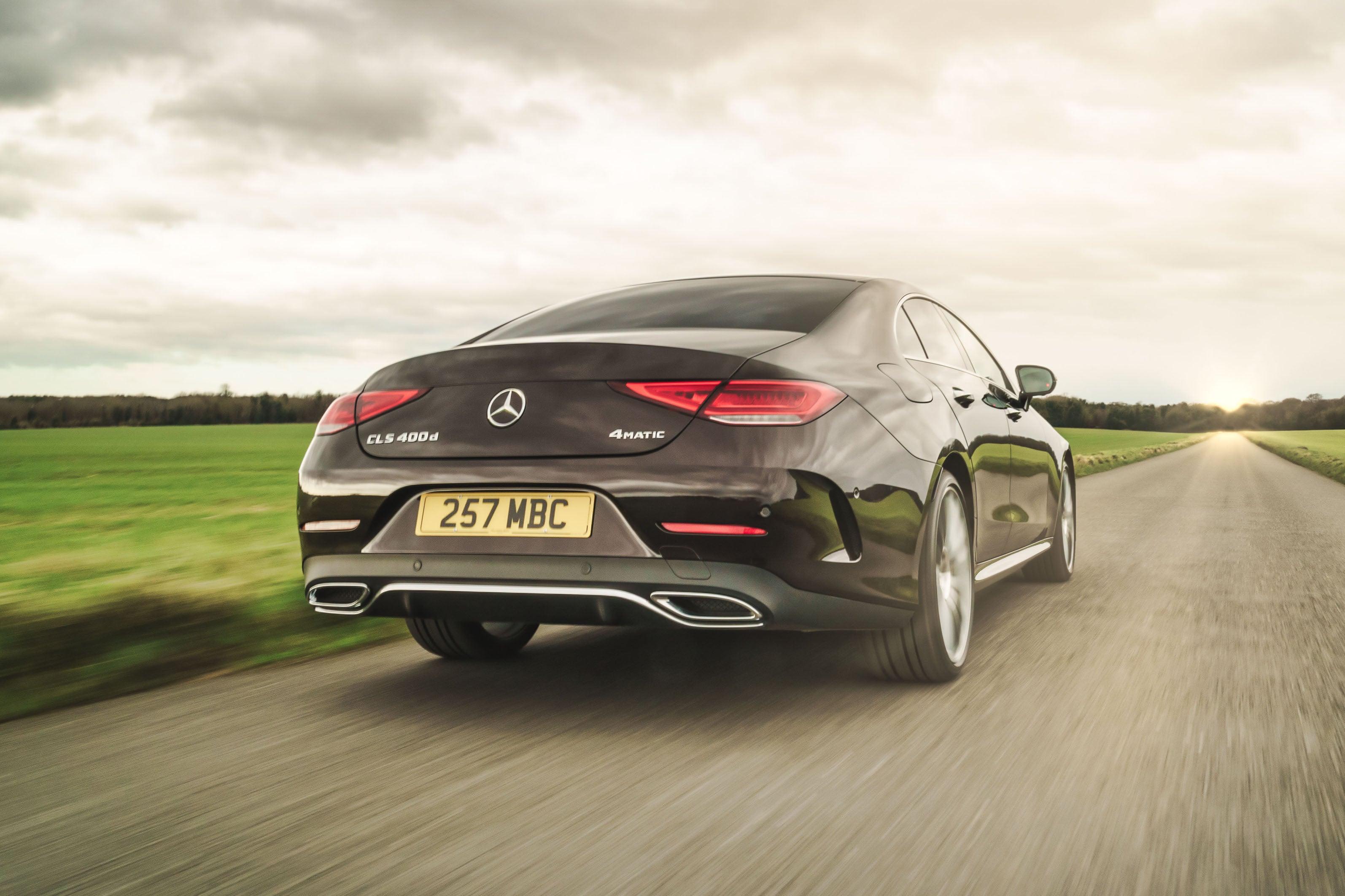 Mercedes CLS (2018) backright exterior