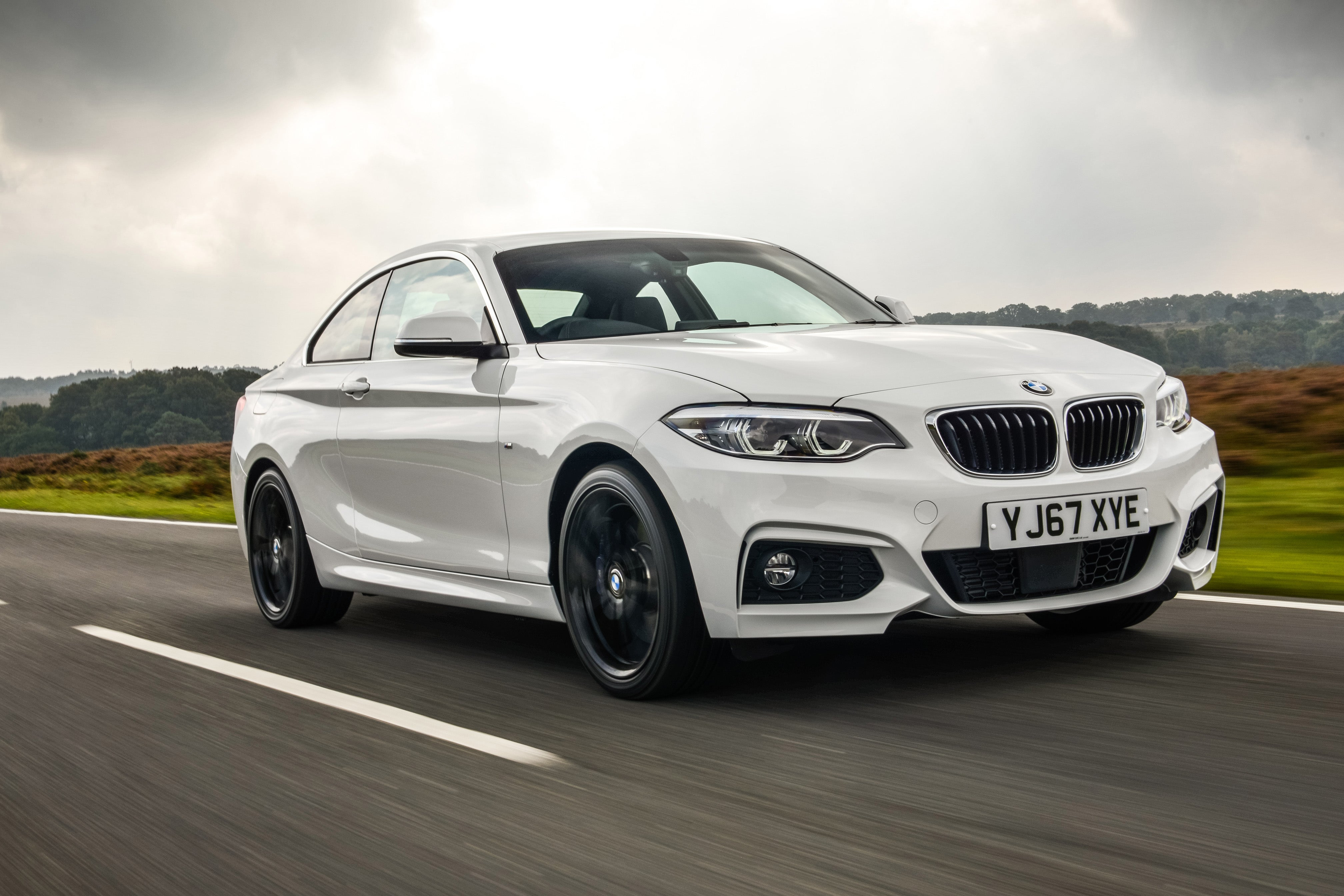 BMW 2 Series Driving Front