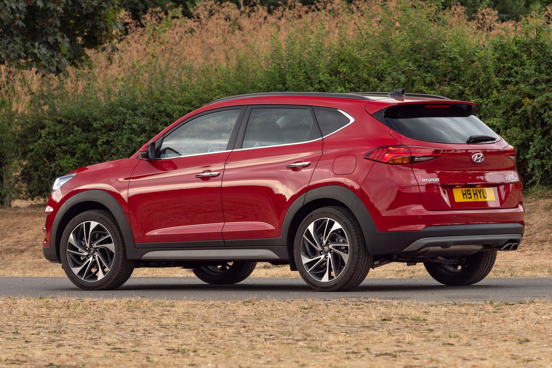 Hyundai Tucson  backleft exterior