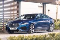 Jaguar XF parked