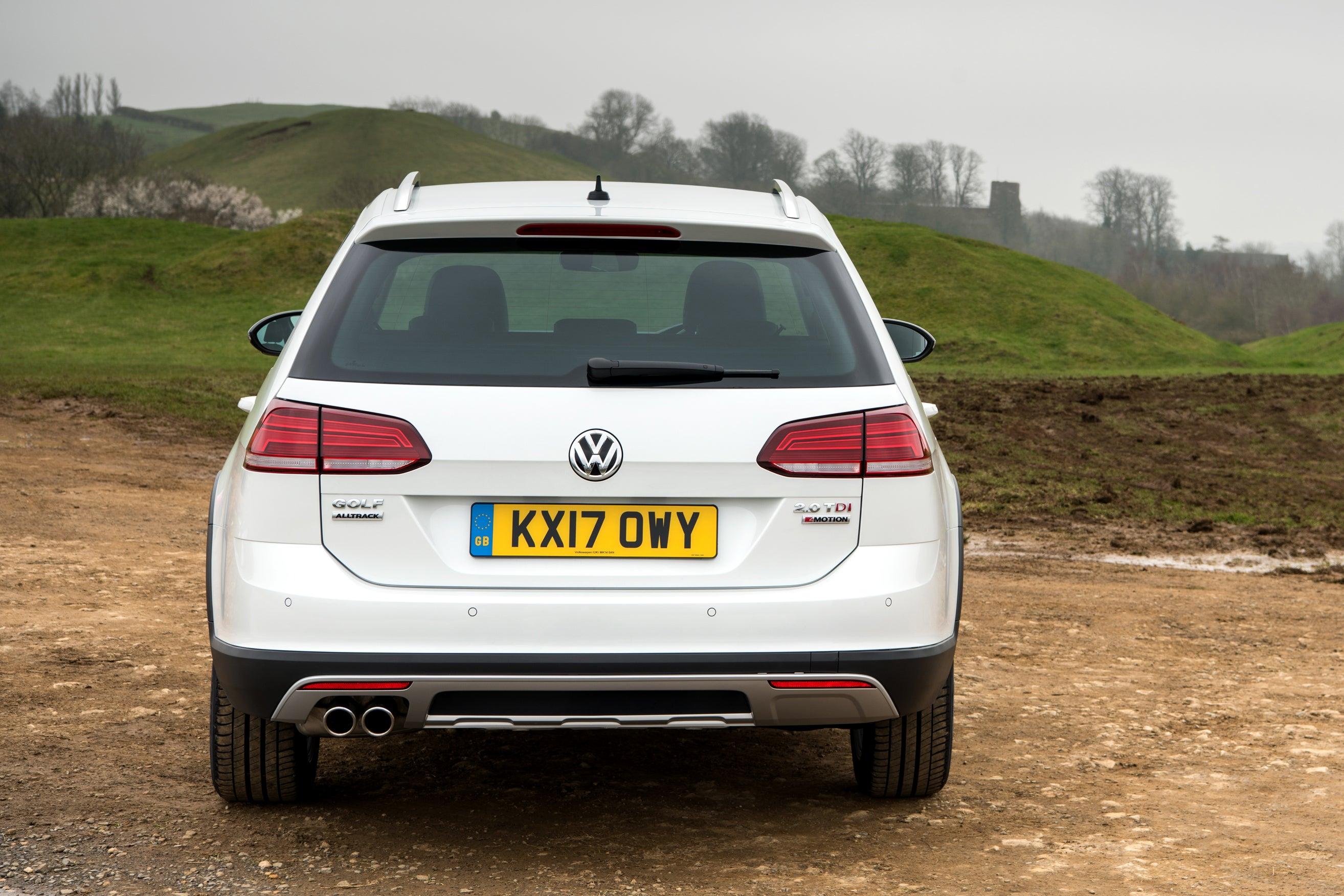 Volkswagen Golf Alltrack Rear View
