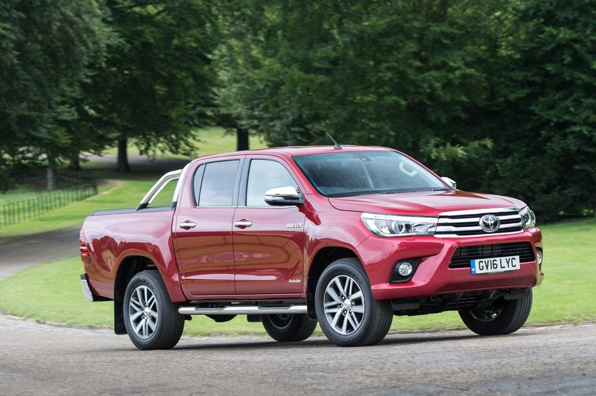 Toyota Hilux Front Side View