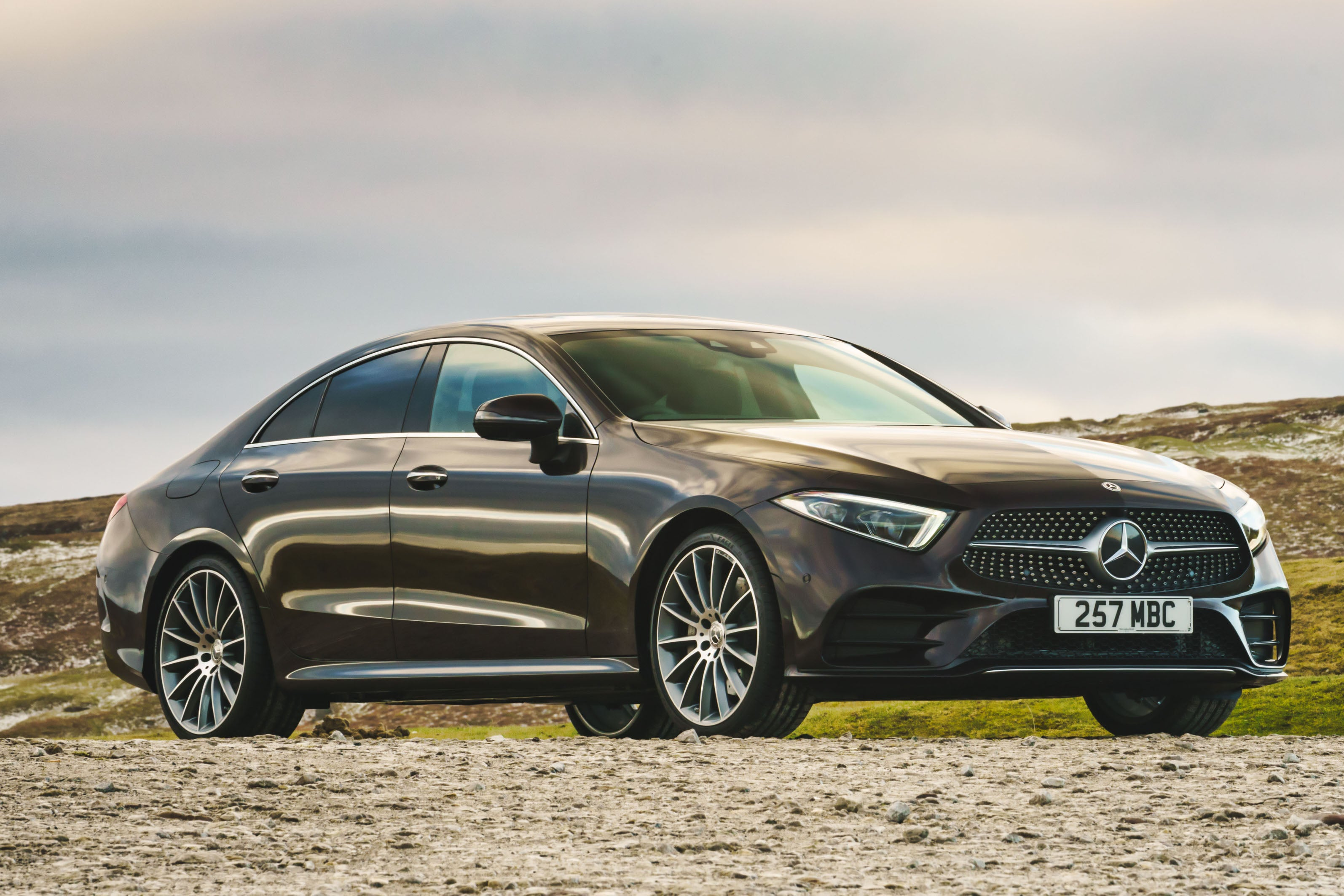 Mercedes CLS (2018) frontright exterior