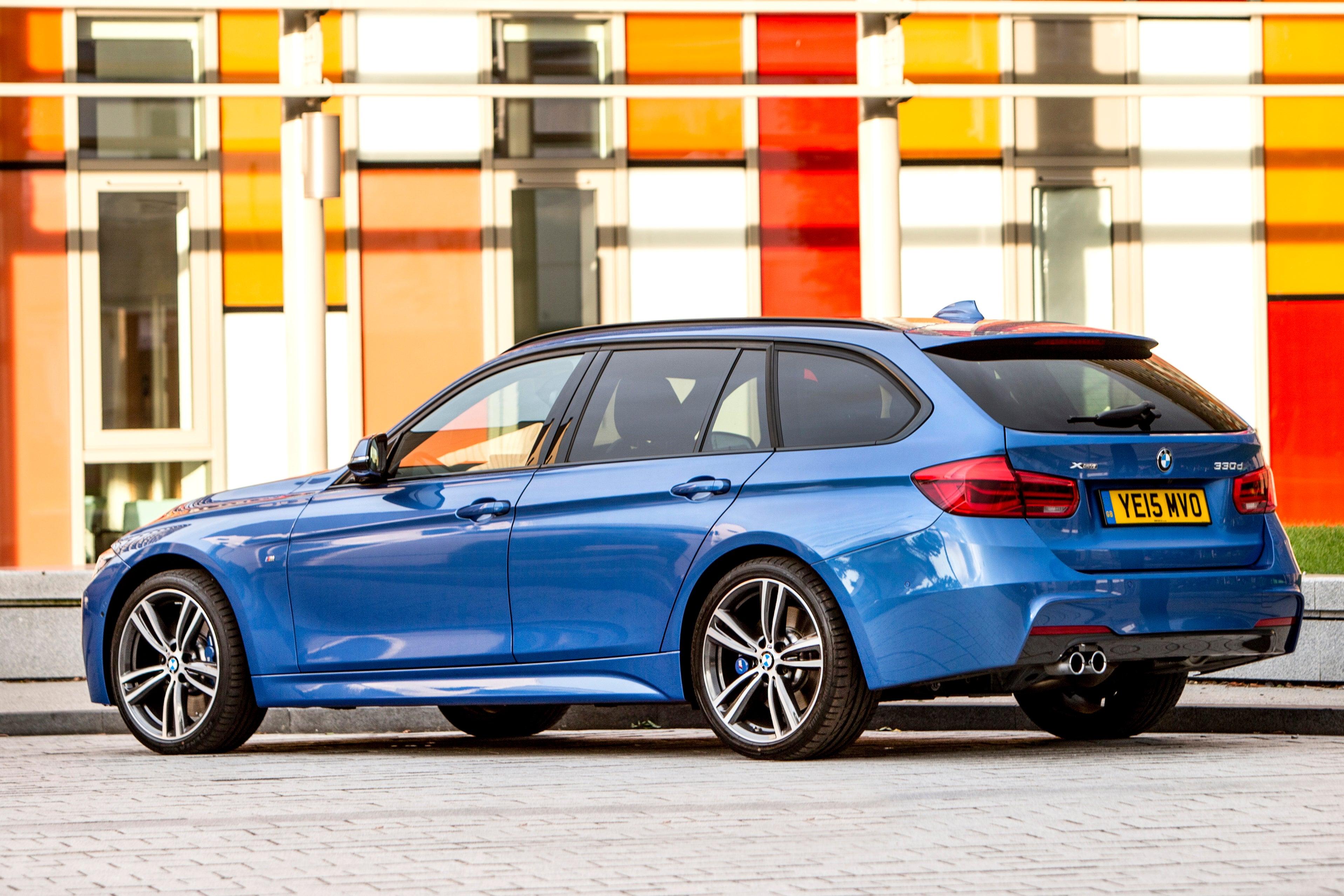 BMW 3 Series Touring Exterior Back