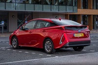 Toyota Prius Plus Plug-in Rear Side View