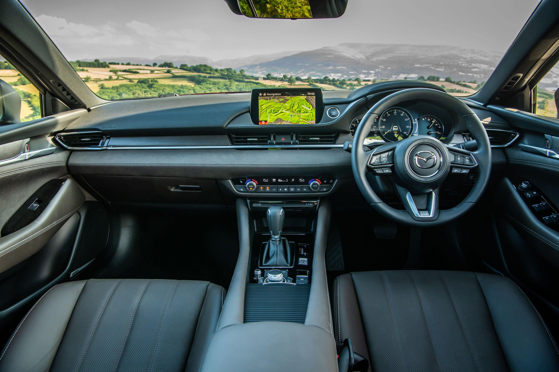Mazda 6 interior cabin