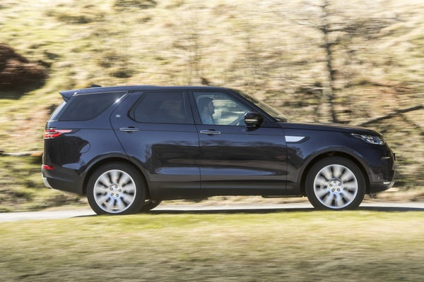 Land Rover Discovery  2017 right exterior