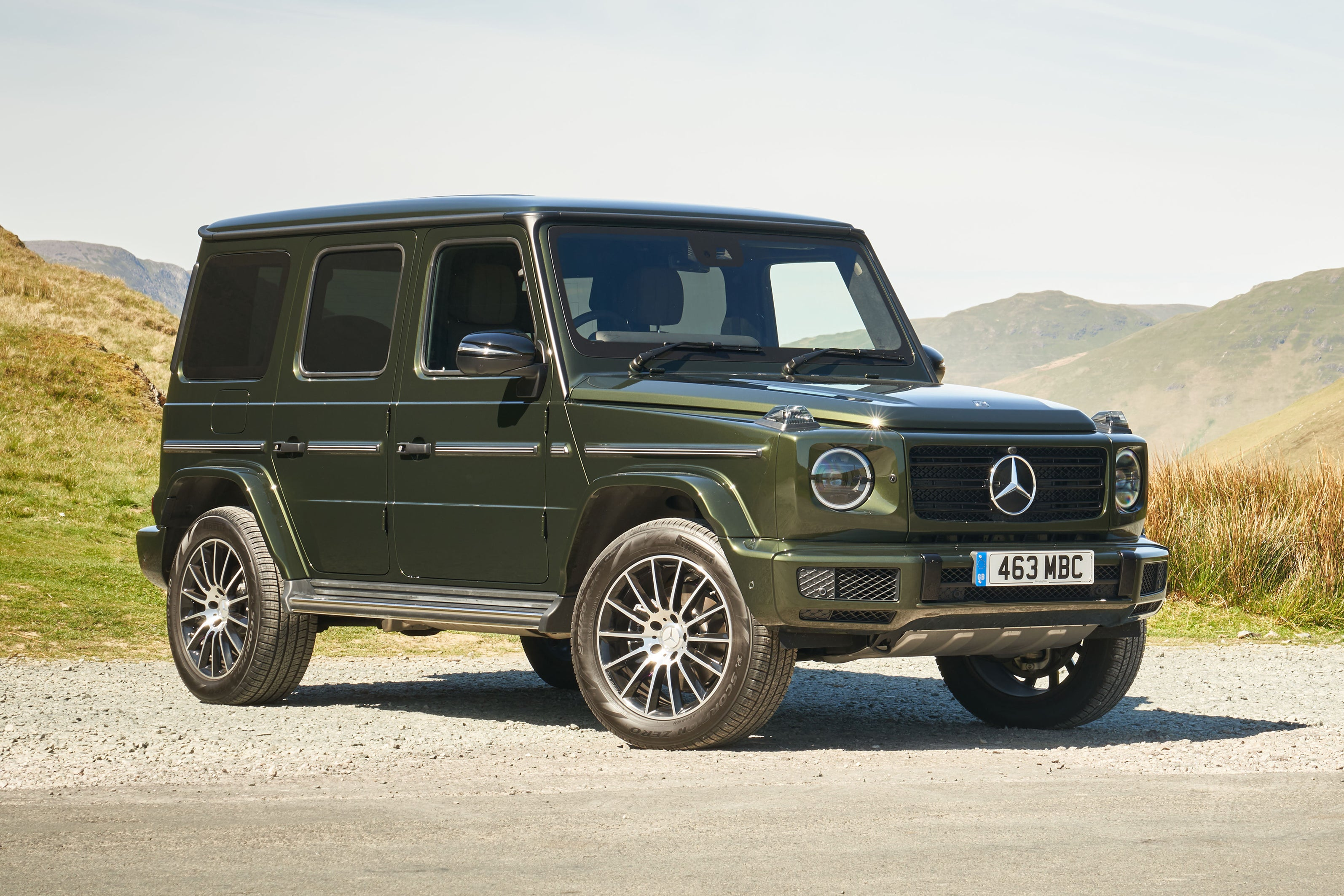 Mercedes G-Class frontright exterior static