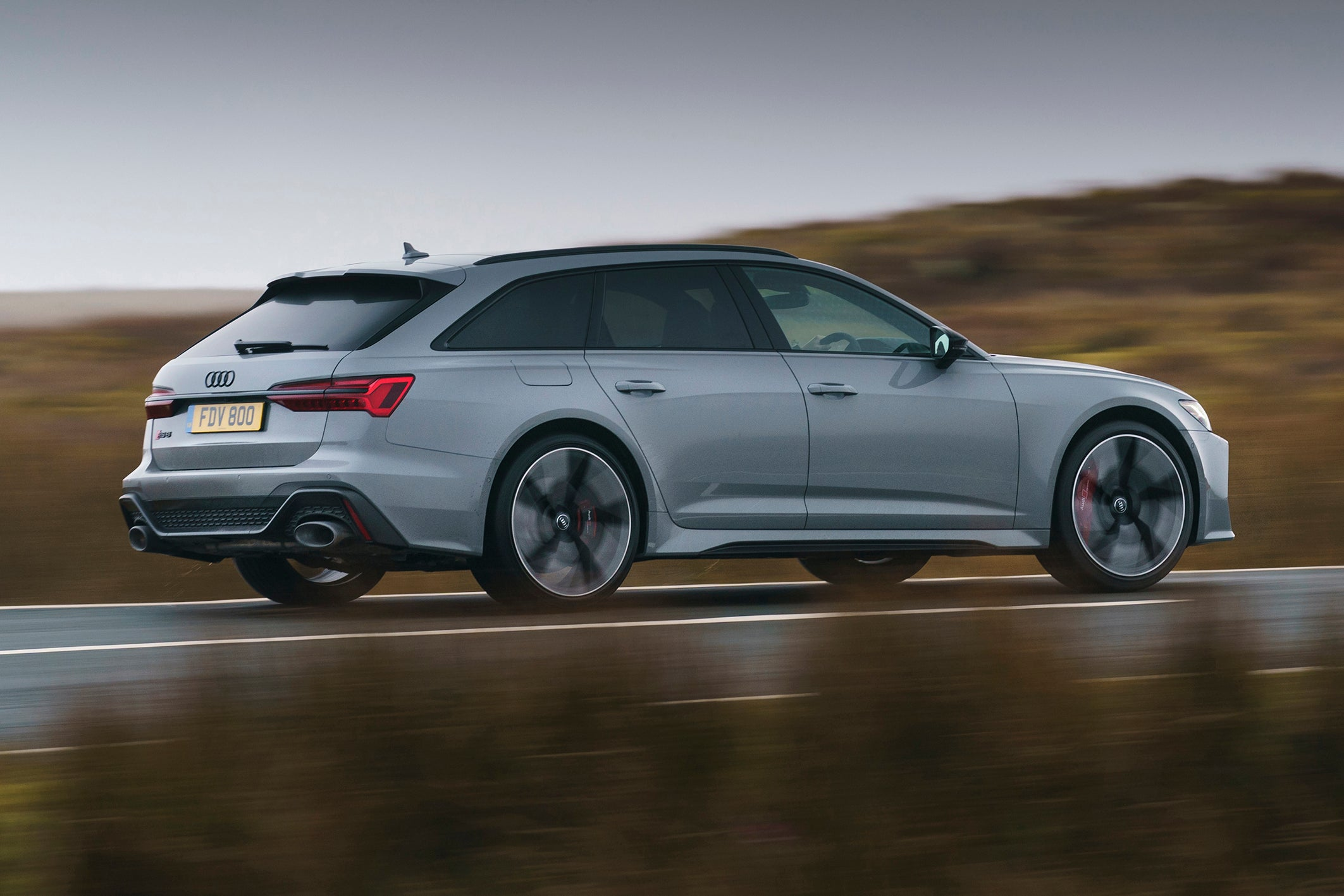 Audi RS6 Driving Side