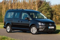Volkswagen Caddy Maxi Life Front Side View