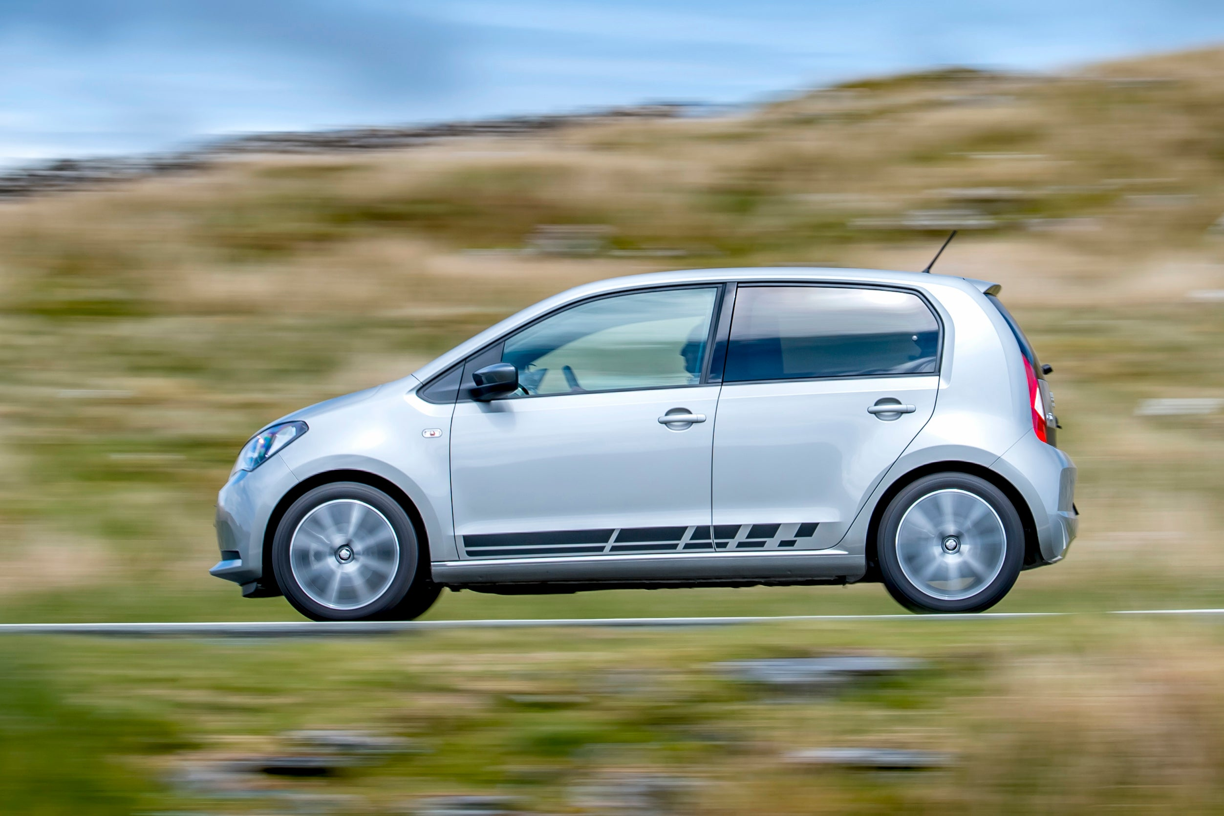 SEAT Mii Left Side View