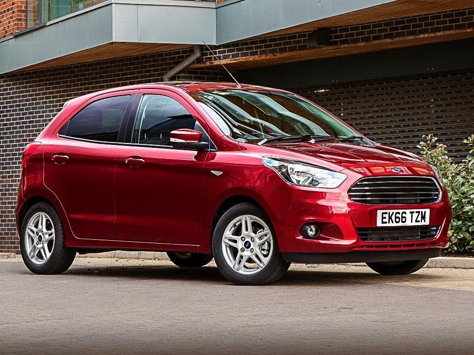 Ford Ka+ front