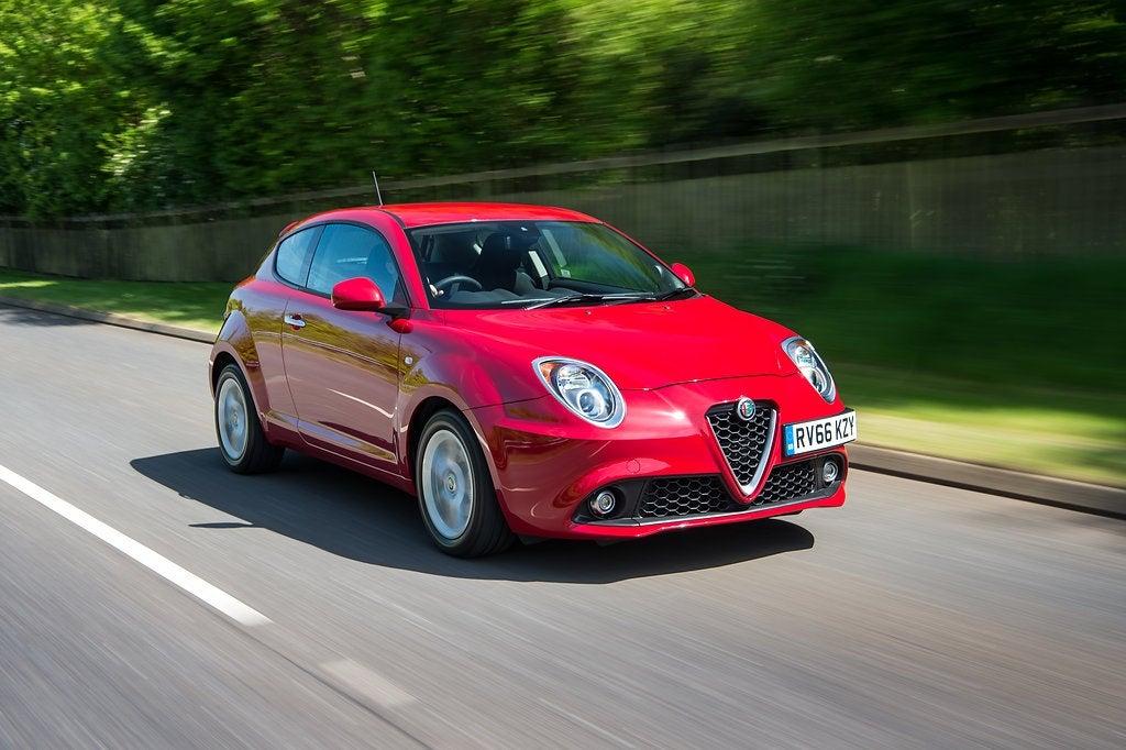 Alfa Romeo MiTo Driving Front