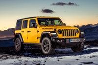Jeep Wrangler  frontright exterior