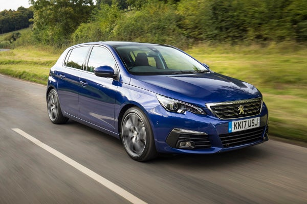 Peugeot 308 Right Front Side View