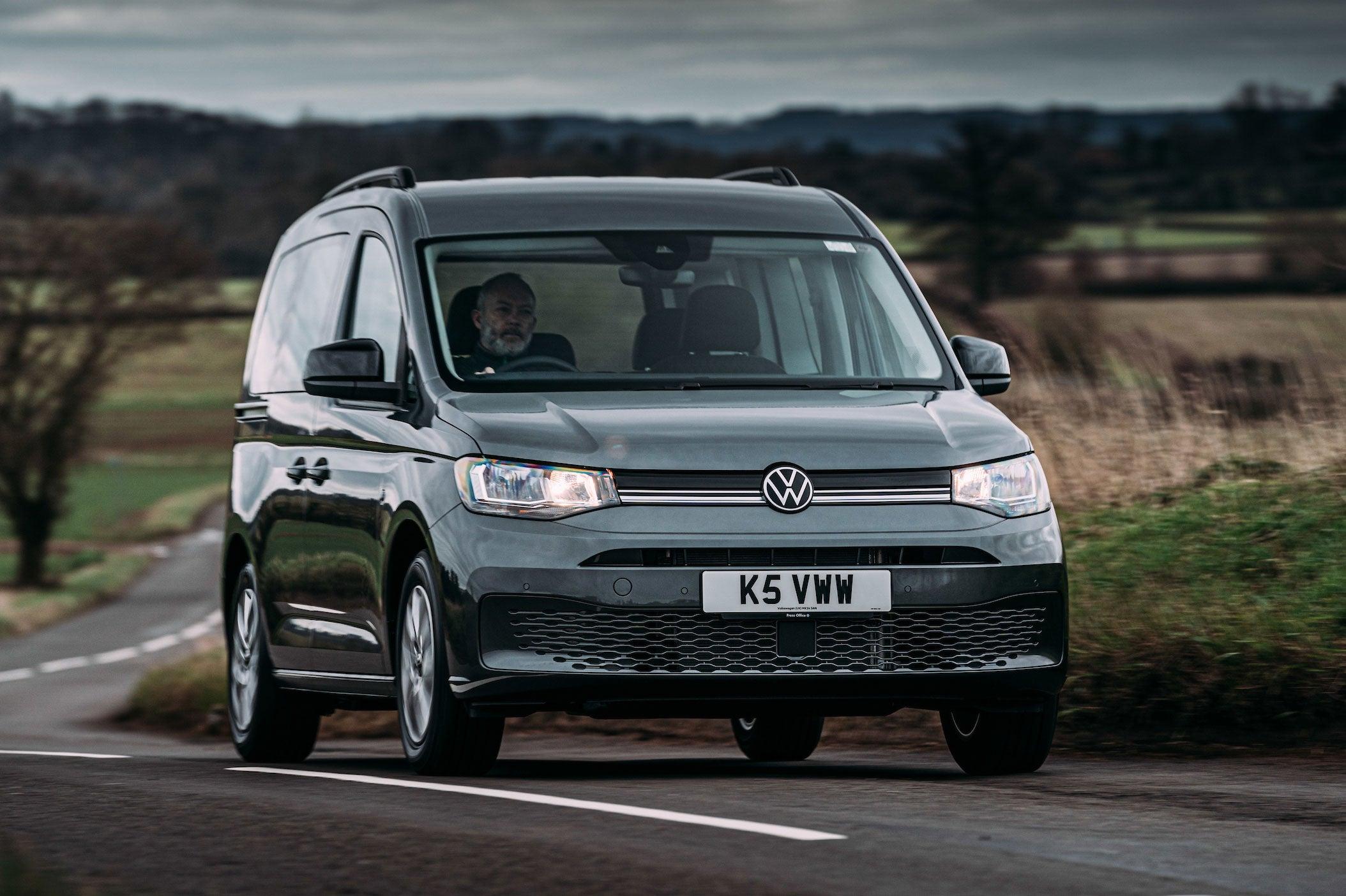 Volkswagen Caddy Life front