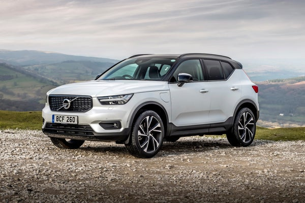 Volvo XC40 Recharge Front Side View