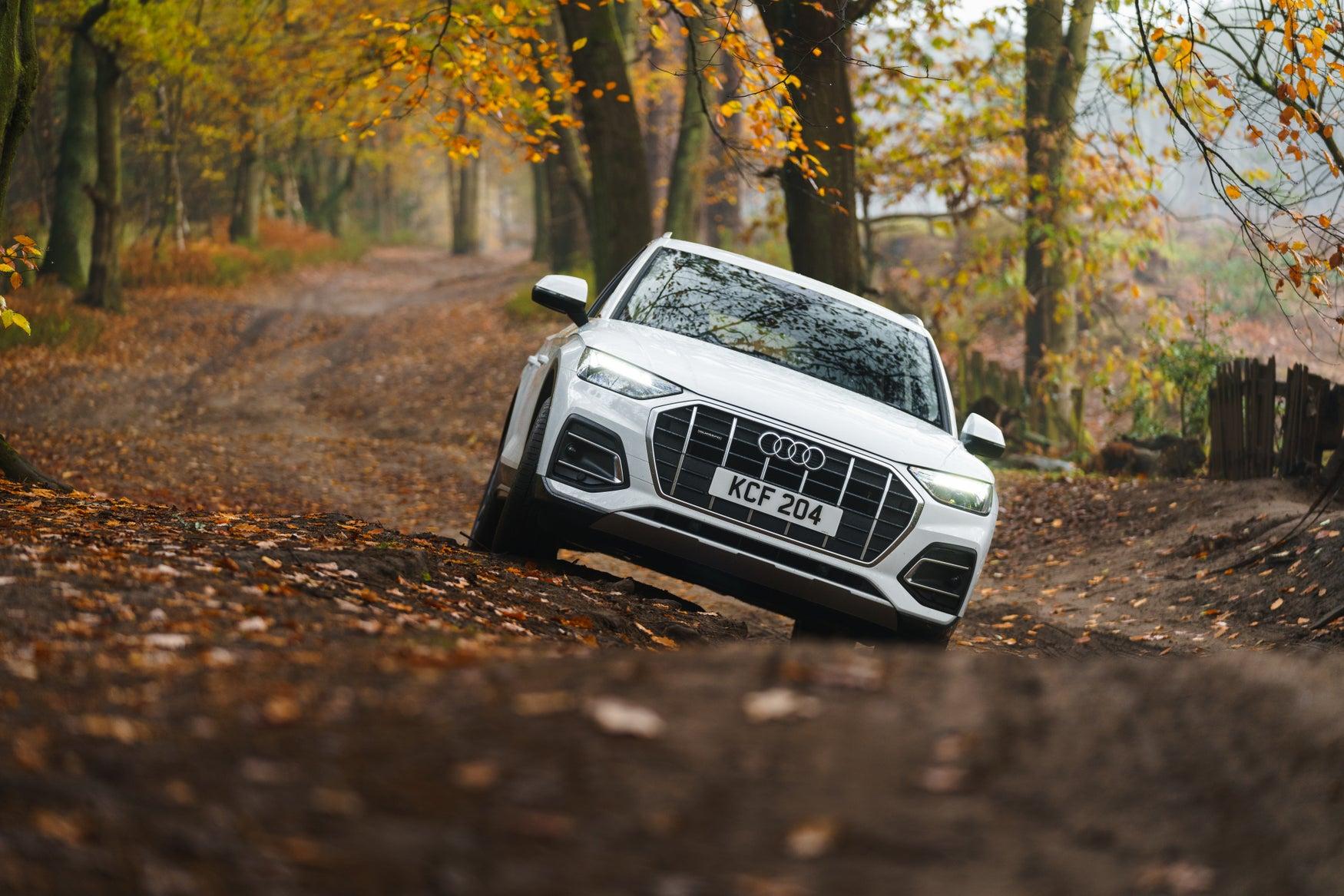 Audi off roading
