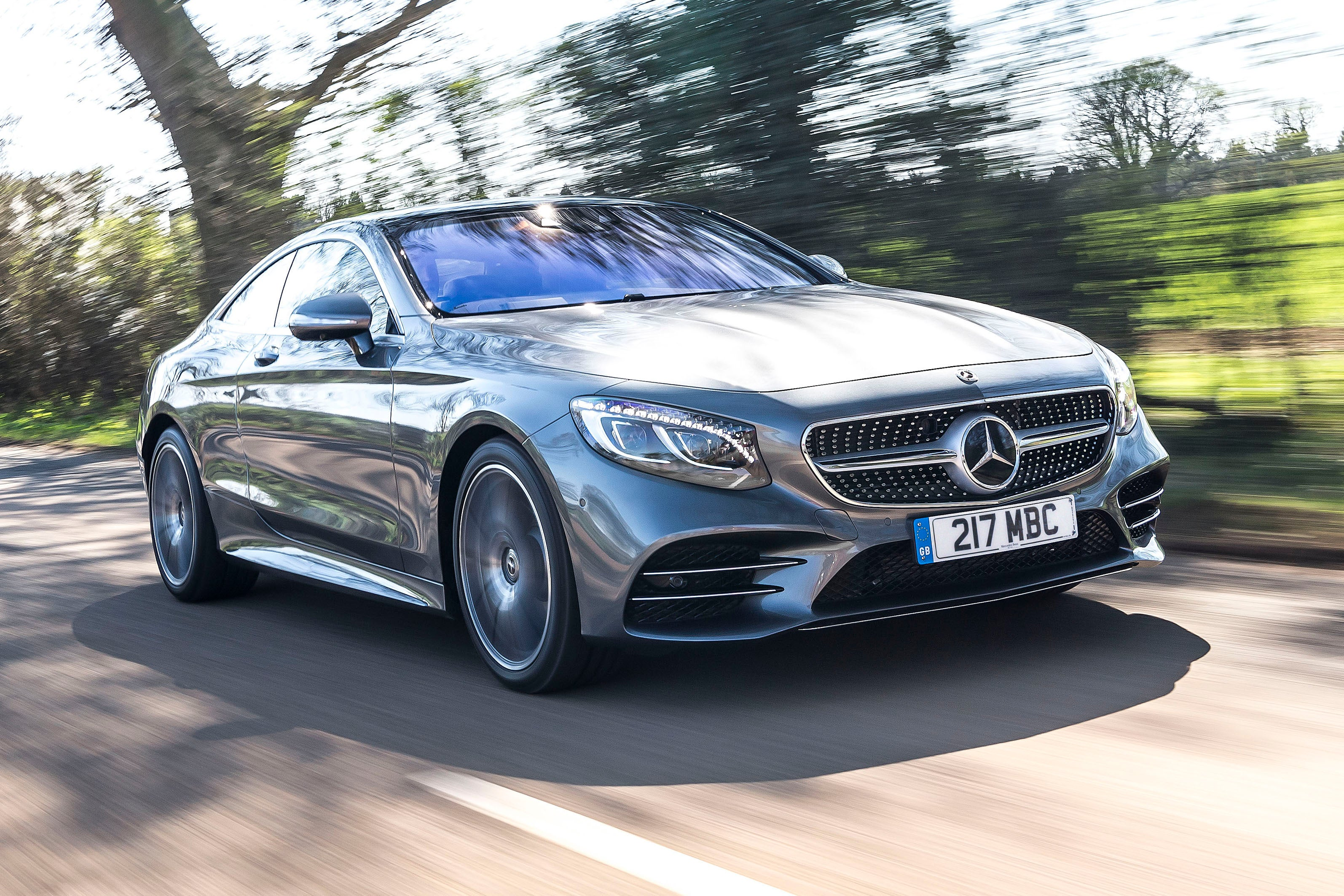 Mercedes S-Class Coupe frontright exterior