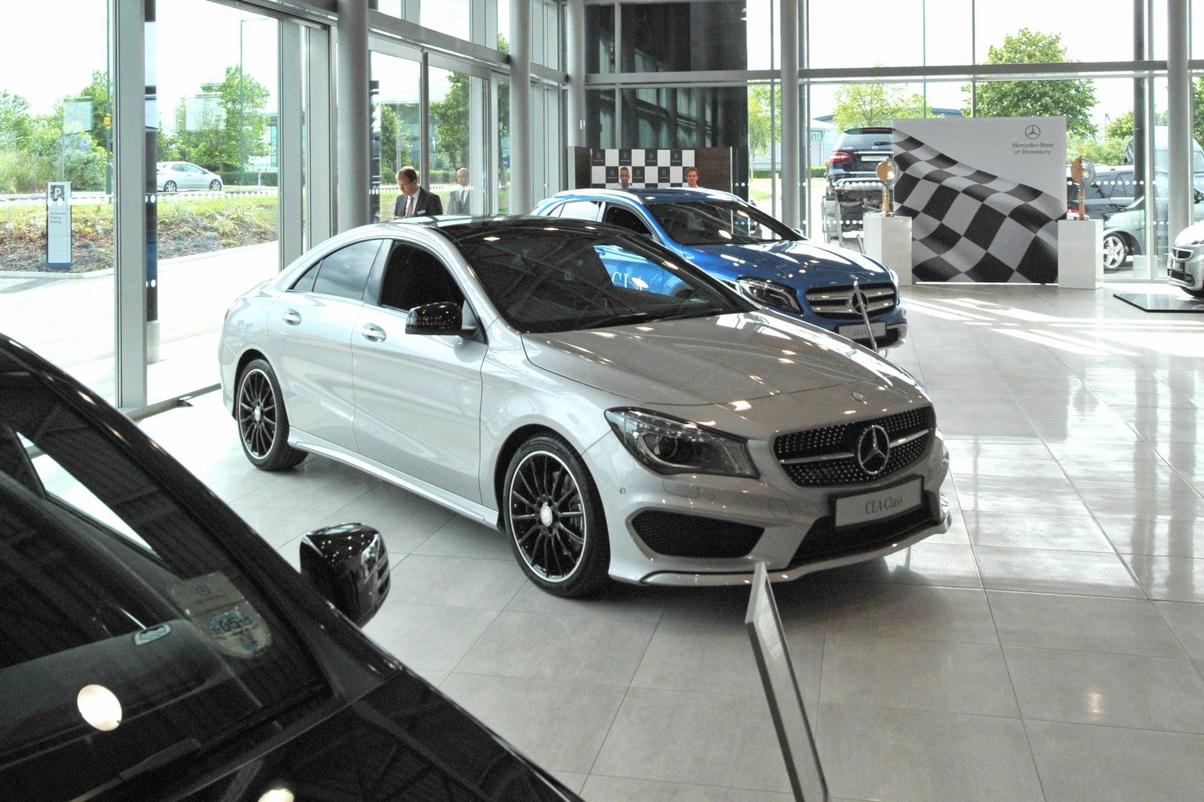 Car showroom reopened in April
