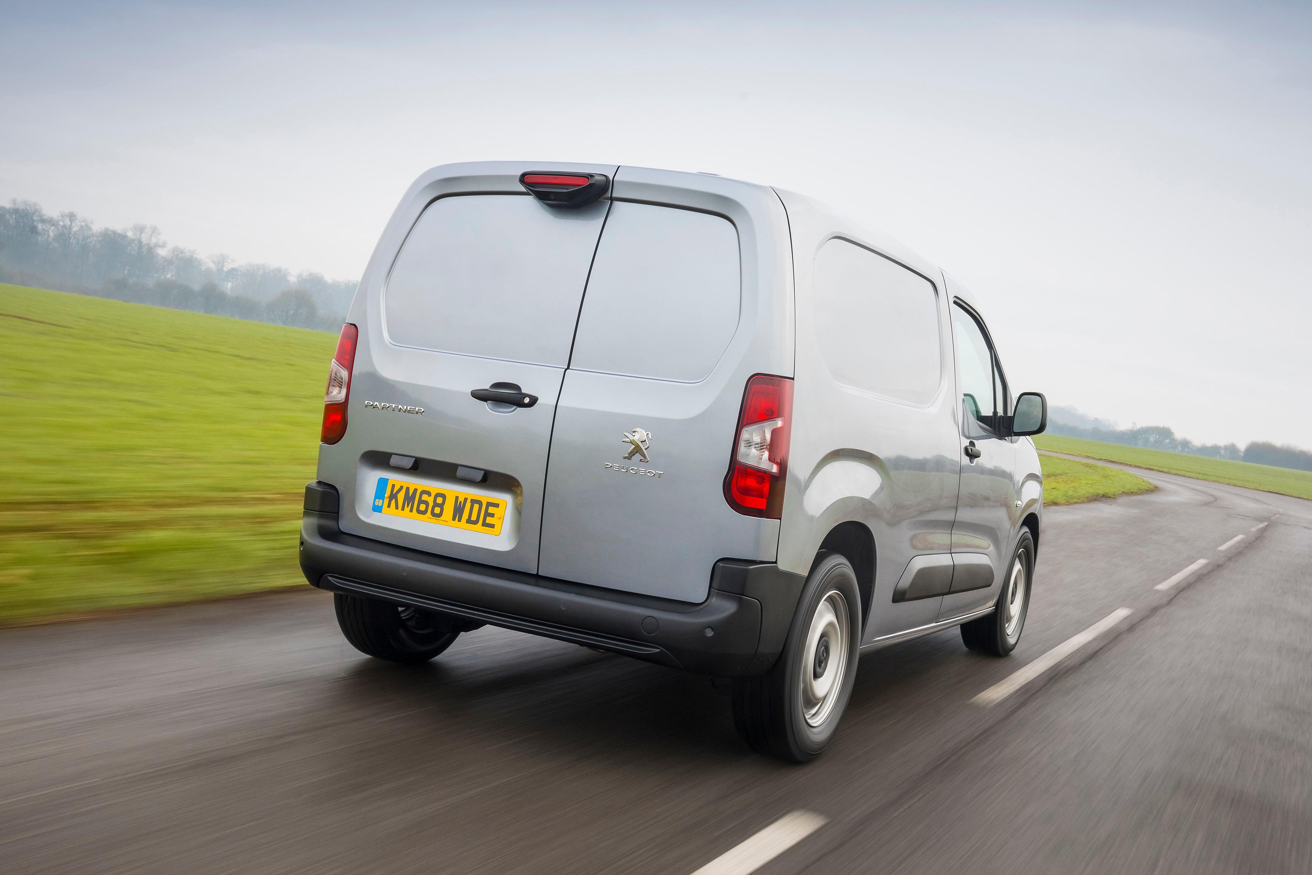 Peugeot Partner Rearview