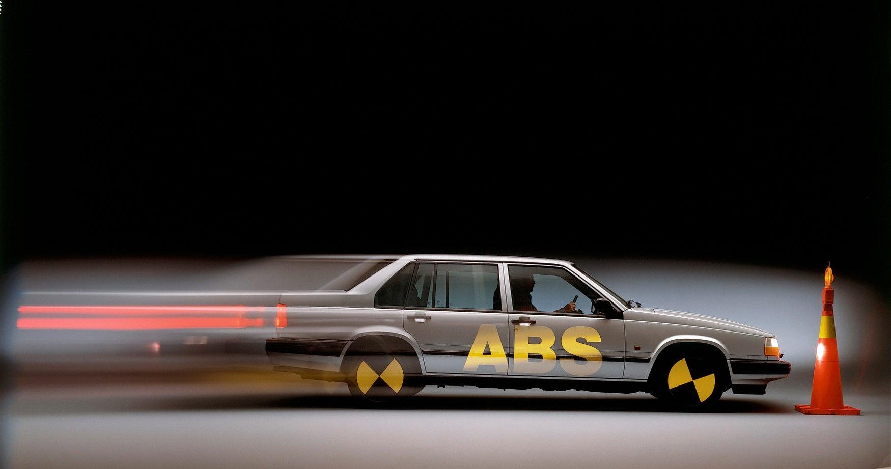 Volvo ABS test