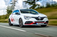 Renault Megane RS Front Side View