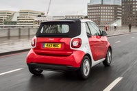 Smart Fortwo Cabriolet Rear View