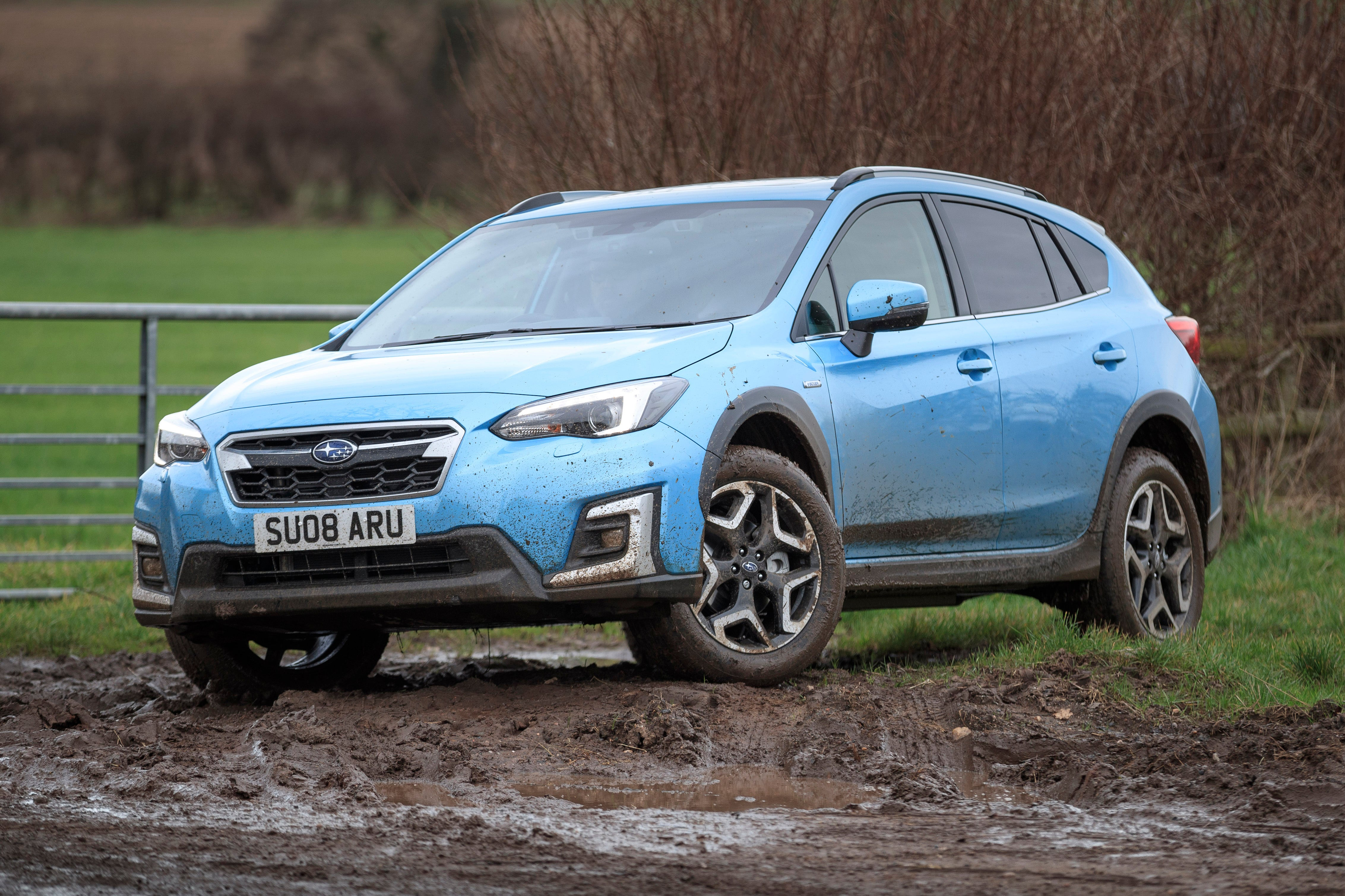 Subaru XV Front Side View