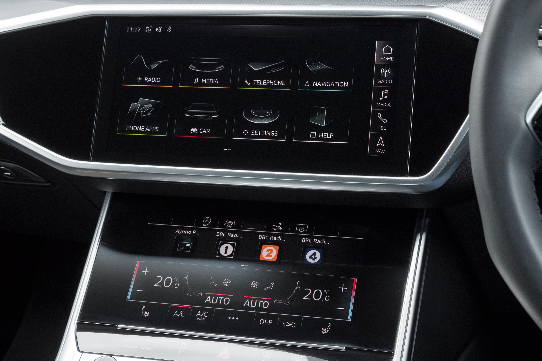 Audi A7 Sportback Centre Console