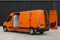 Vauxhall Movano Rear Side View