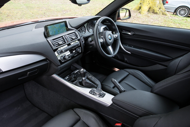 BMW 1 Series Interior Black Leather