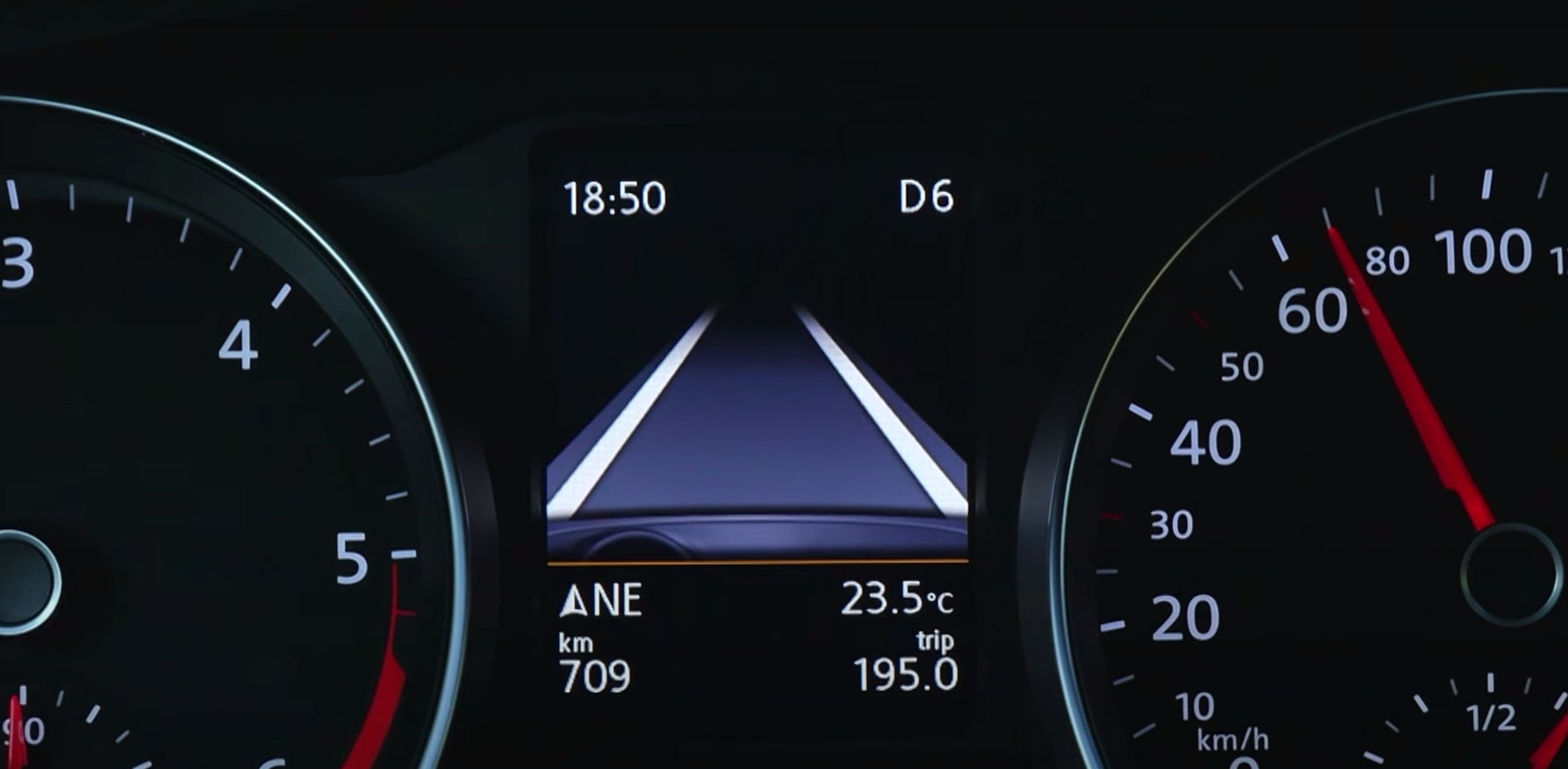 Volkswagen Passat lane assist