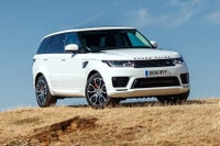 Range Rover 18 plate PHEV on road