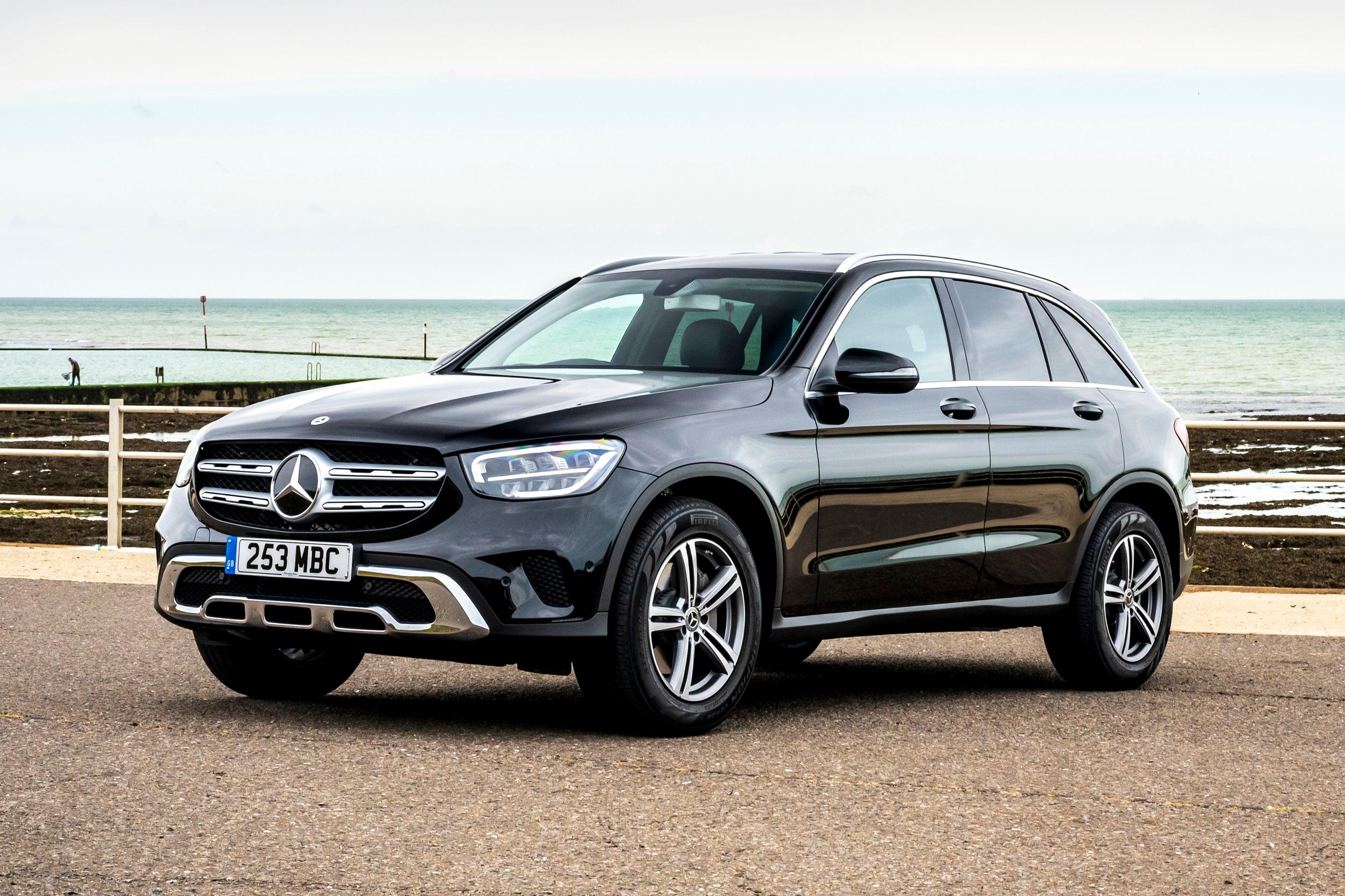 Mercedes GLC frontleft exterior